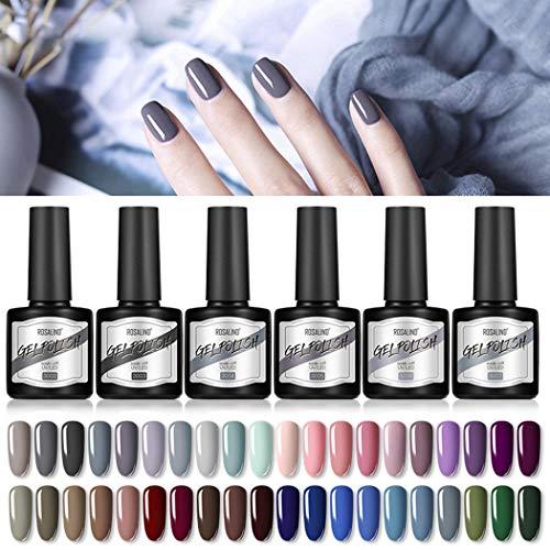 ROCONAT 40 colores moda nail art polaco 8 ml efecto mate manicura polaco gel Esmaltes en gel