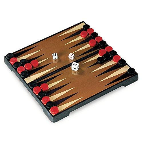 Juego JU01007 - Travel Game, Backgammon, Viaje y de Bolsillo