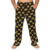 Wu Tang Clan Logo Yellow and Black Lounge Pants (Adult XX-Large)