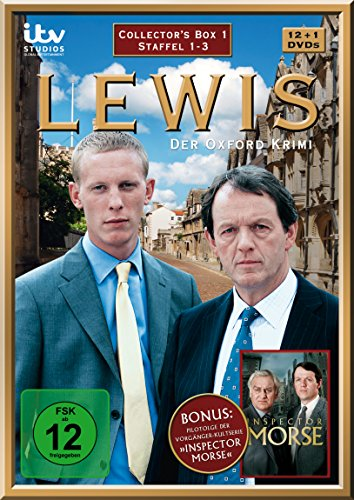 Lewis - Der Oxford Krimi - Collector's Box 1 [13 DVDs]