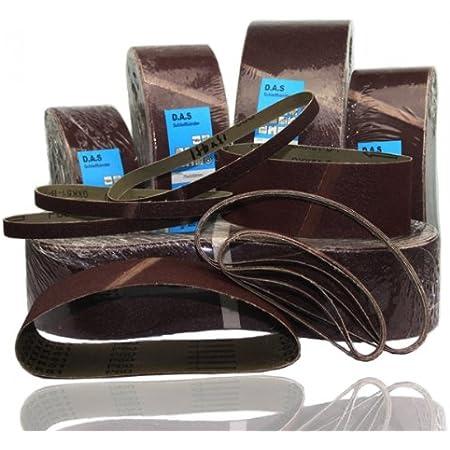 10x Awuko Schleifband Schleifbänder Holz 150x7700 mm Korn Körnung Mix KP52F