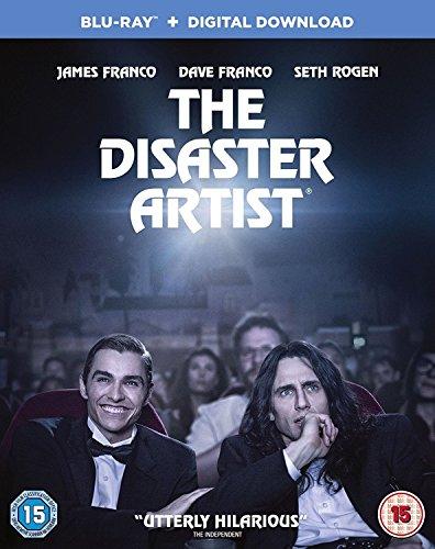 Top New Disaster Artist [Blu-ray + Digital Download] [2017]