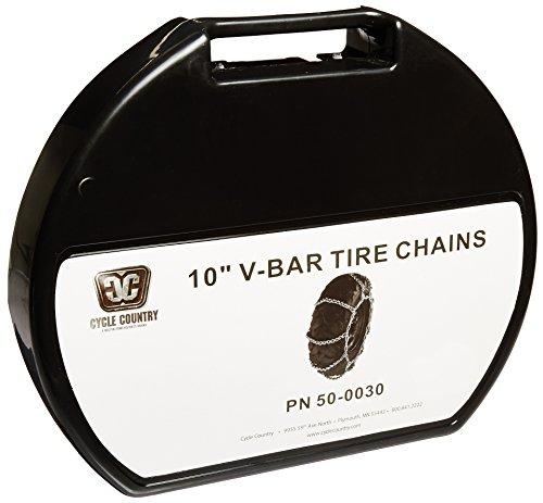 """Kolpin 50-0030 10"""" V-Bar Chain in Plastic Case"""