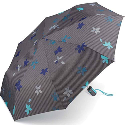Esprit Taschenschirm Easymatic Light Flower Rain - Excalibur
