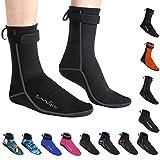 OMGear Water Socks Neoprene Socks Beach Booties Shoes 3mm Glued...