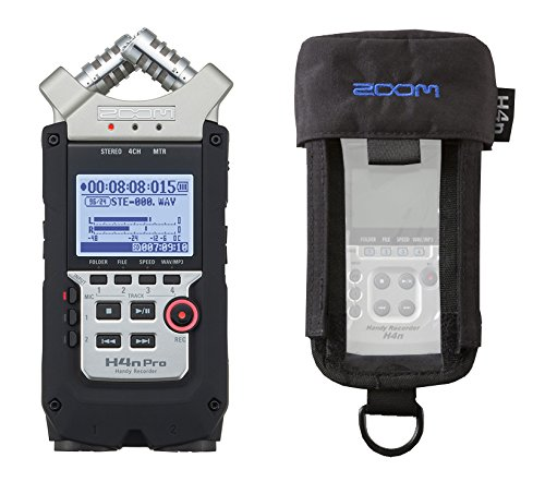 ZOOM H4n PRO Registratore Digitale con Custodia PCH-4N Bundle