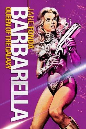 Barbarella – US Movie Wall Poster Print - A4 Size Plakat Größe