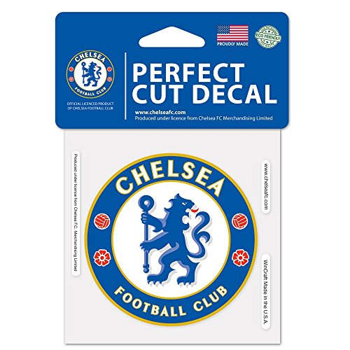 WinCraft Soccer Chelsea FC Perfect Cut Color Decal, 4' x 4'