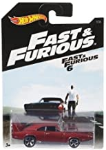 HOT WHEELS 2016 RELEASE FAST & FURIOUS RED '69 DODGE CHARGER DAYTONA 7/8
