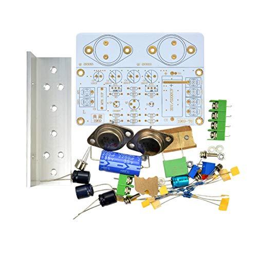 Greatangle 1969 Clase A Tablero Amplificador de Potencia 10-15W HiFi Audio Amplificador MOT / 2N3055 PCB Kit DIY Producto Terminado