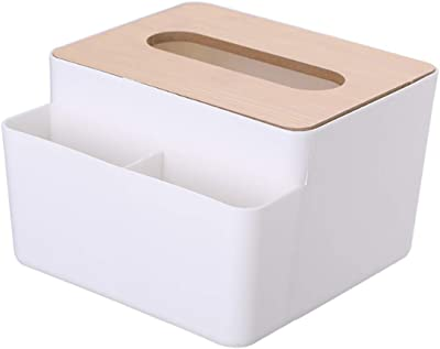 SZSMART多機能ティッシュボックス 北欧 おしゃれ 収納ボックス リビング ベッドルーム ティッシュ 小物入れ