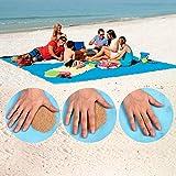Best Beach Blanket Sand Frees - WAPIKE Sand-Free Beach Mats, Beach Mat Sand Proof Review