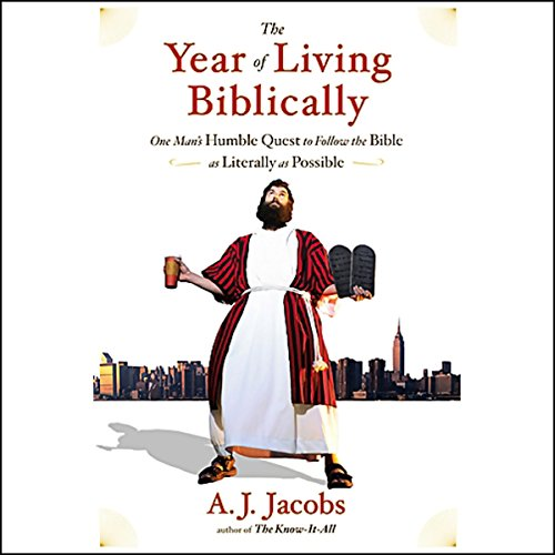 The Year of Living Biblically cover art