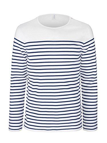 Kariban - Marinière - t-Shirt Manches Longues- K366 - Homme (L)