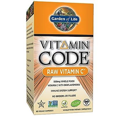 Garden of Life Vegan Vitamin C - Vitamin Code Raw C Vitamin Whole Food Supplement