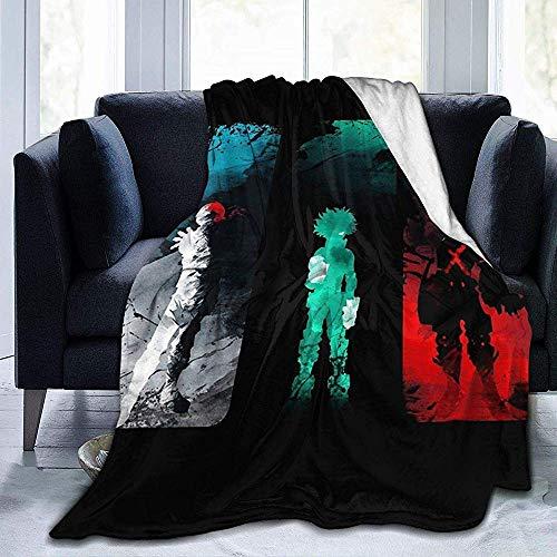 ocaohuahuaba My Hero Academia Amino Comfort Warm Fluffy Plush Hypoallergenic Blanket