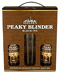 Peaky Blinder Black IPA Gift Pack, 2 x 500ml Bottles and Pint Glass