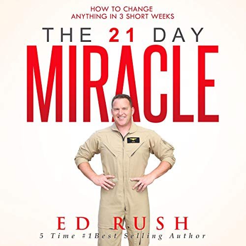 The 21 Day Miracle audiobook cover art