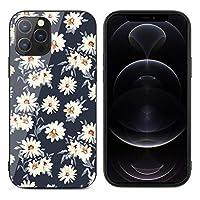 iPhone12mini ケース iPhone12 ケース iPhone12Pro ケース iPhone12ProMax ケース 強化ガラス 白い 花柄 和風 軽量 ケース スマホケース レンズ保護 滑り止め 指紋防止 擦り傷防止 耐衝撃カバー 高級感