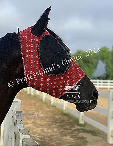 Professional's Choice Comfort Fit Fliegenmaske Bear Paw (Horse (Full/Warmblut))