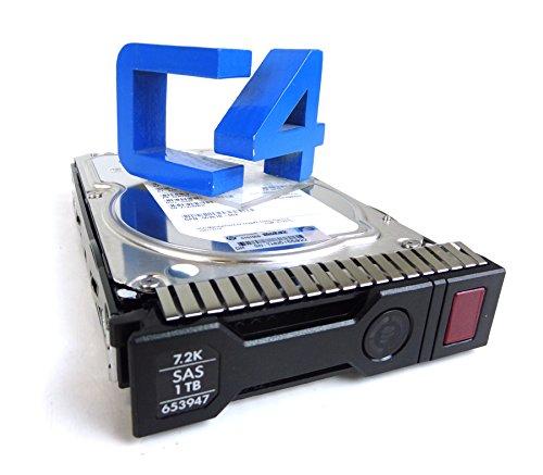 HP 652753 B21 Festplatte 1 TB 7200 Umin 35 TB SAS DP 6G MDL G8 SC HDD 652753 B21