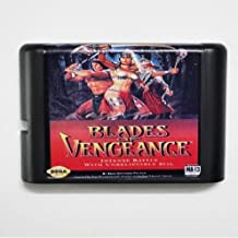 Taka Co 16 Bit Sega MD Game Blades Of vengeance 16 bit MD Game Card For Sega Mega Drive For Genesis