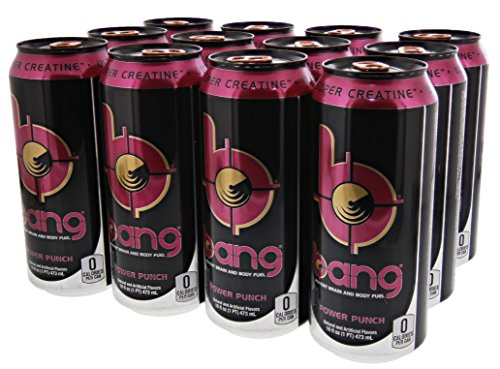 VPX Bang Power Punch  - 16 Fl. Oz (12 Count) (1 PT) 473 ml