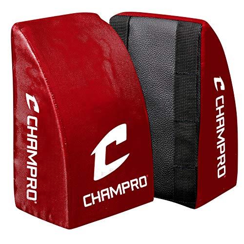 CHAMPRO CG28SC Kniebandage für Erwachsene und Jugendliche, Scharlachrot, Jugendliche