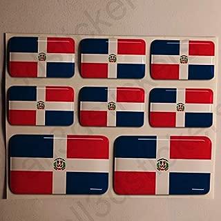 3 stickers plaque immatriculation auto DOMING 3D RESINE DRAPEAU ESPAGNE N° 76