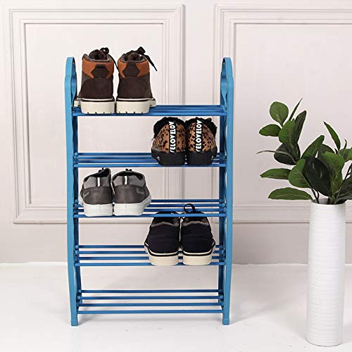 Hwcpadkj 5 Zapatero de Niveles Acero y Shoe Rack gabinete Zapatos Bricolaje...
