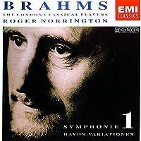 Symphony 1 / Haydn Variations by Brahms