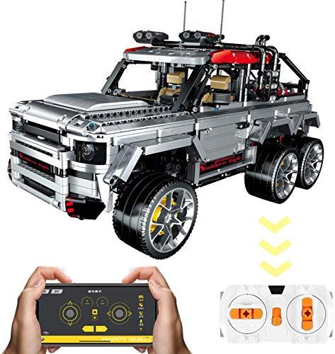 Set de Construcción adornos de bloques de construcción ensamblados en vehículos todoterreno Land Rover, partículas 2911, juguetes educativos para niños mayores de 8 años