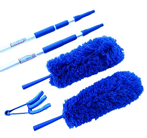 VENEZIANA Dust Cleaner SLATS TRIPLE MICRO FIBRA MICROFIBRA Spazzole DUSTER