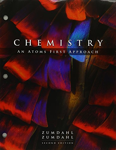 Bundle: Chemistry: An Atoms First Approach, Loose-leaf Version, 2nd + OWLv2 with Student Solutions Manual, 4 terms (24 months) Printed Access Card