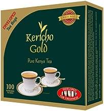 JACKIELYNA'S Finest Kenyan Kericho Gold Foil Enveloped Tea Bags (Kenya) - 200gms /100 tea bags
