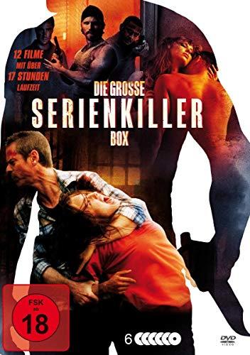 Die große Serienkiller-Box (12 Filme) (6 DVDs)