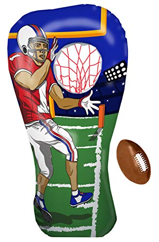 Inflatable Football Toss Target ...
