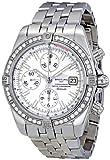 Breitling Men's A1335653/A569 Chronomat Evolution Diamond Bezel Watch