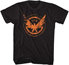 The Division Action Role-Playing Video Game Agent Shield Adult T-Shirt Tee