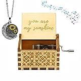 You Are My Sunshine Holz-Musikkästchen
