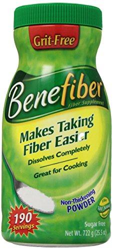 Benefiber Fiber Supplement 190 Servings - Sugar Free- Grit Free 722 grams (25.5 oz.)