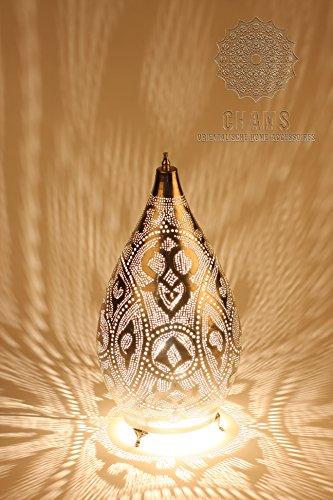 Chams orientalische Lampe silber