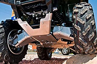 2016-2018 Yamaha Grizzly 700 10-Piece Complete Aluminum Skid Plate Set By Ricochet 9114F