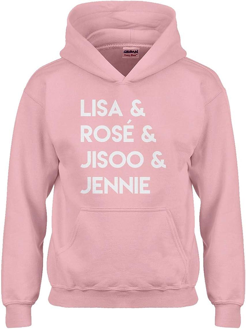 Indica Plateau Lisa & Rose & Jisoo & Jennie Hoodie for Kids