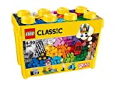 Caja de ladrillos creativos grande, Set de Construcción con ladrillos de colores, Juguete Creativo y divertido a partir de 4 años (10698)