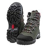 Oregon Waipoua - Botas de seguridad para motosierra (piel), color negro, 295469/43