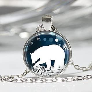 Broches en forme de l/'ours polaire Bijoux de Noel Broche de Noel pour les fem XK