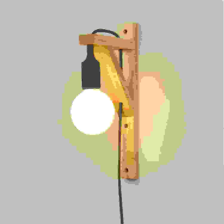precios al por mayor HRCxu Baadores de parojo Lámpara Lámpara Lámpara de pie de lámpara de parojo de madera maciza con interruptor con enchufe Sala de estar TV lámpara de parojo de fondo simple lámpara de dormitorio cálido, negro  ahorra hasta un 30-50% de descuento