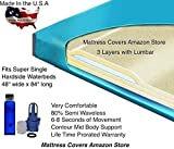 Super Single 80% Semi Waveless Waterbed Mattress with Lumbar
