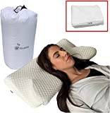 Kuddle Luxury Orthopaedic Contour Memory Foam Pillow Best For Neck And Shoulder Pain